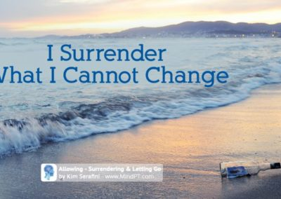 Surrendering & Letting Go X4